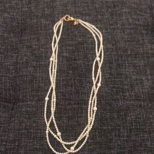 """J crew """"pearl"""" necklace"""